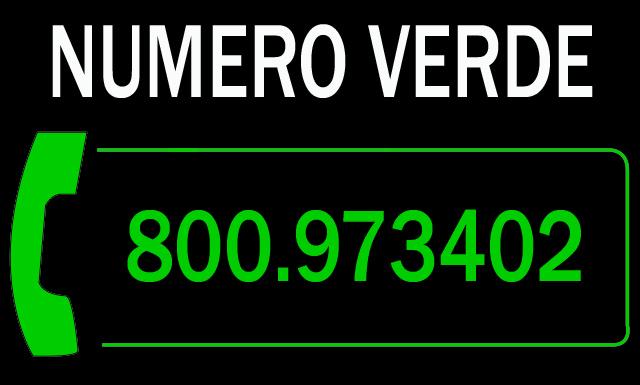 NUMERO VERDE RIPRESA PROFESSIONALE 800-97.34.02